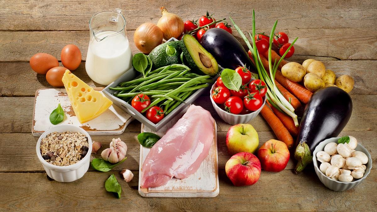 Prawdziwa żywność to zdrowa dieta.
