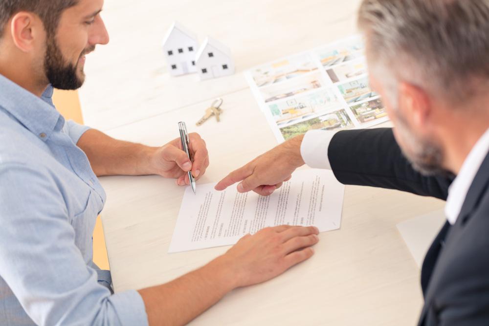 podpisywanie umowy kupna mieszkania